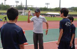 川本先生からの指導の写真