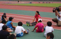 渡辺コーチからの指導の写真