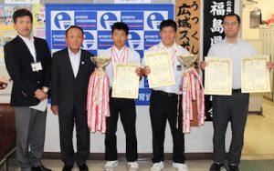 平成29年度全国中学生カヌー大会の写真