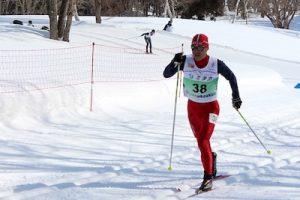 スキー:金丸富男選手の写真