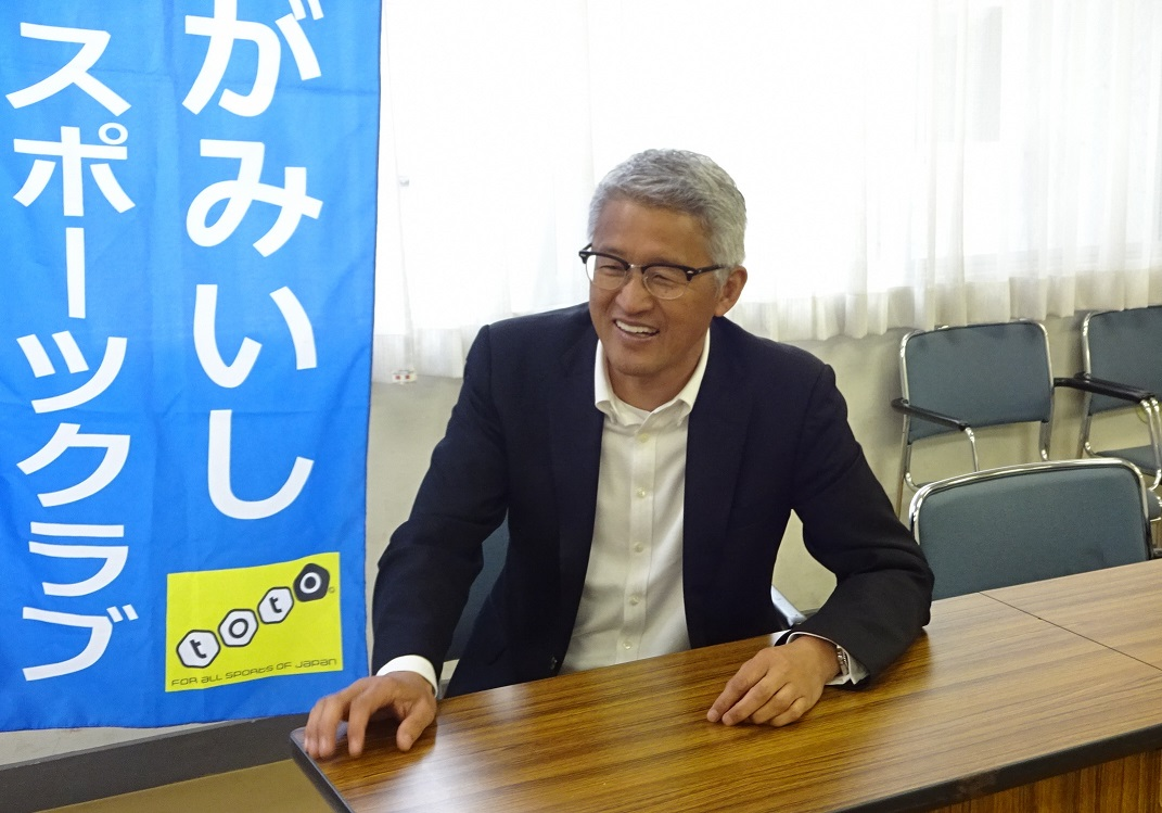 靖弘理事長インタビュー写真1