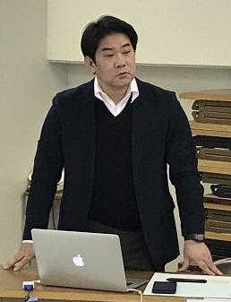 講師の門馬俊光氏